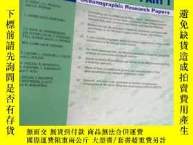 二手書博民逛書店Deep罕見Sea Research Part I Volume