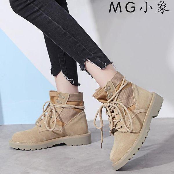 馬丁鞋-馬丁靴真皮中幫短靴子雪地靴