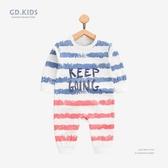 新生兒哈衣0-1歲寶寶秋裝連身裝純棉睡衣嬰兒爬服條紋長袖童裝