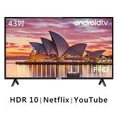 【南紡購物中心】TCL 43吋 43S6500 FHD 安卓連網液晶顯示器 無視訊盒