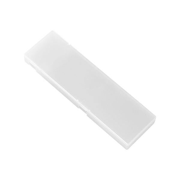 日式透明磨砂簡便鉛筆盒(小)1入【小三美日】