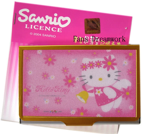 【卡漫城】 Hello Kitty 名片夾 ㊣版 金屬盒 名片盒 記憶卡夾 ~ 1 9 9 元