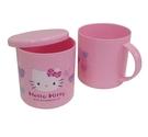 HELLO KITTY PP附蓋水杯 日本Sanrio 三麗鷗正版授權