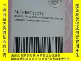 二手書博民逛書店好書罕見AUTHENTICITY: brands,fakes,s