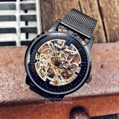 Kenneth Cole國際品牌都會紳士鏤空機械腕錶KC50054007公司貨