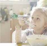兒童餐具兒童筷子訓練筷寶寶一段學習筷健康環保練習筷餐具套裝 【快速出貨】