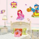 LK-公主系列亮銀麗龍吸塑壁飾貼_LK-POA5307