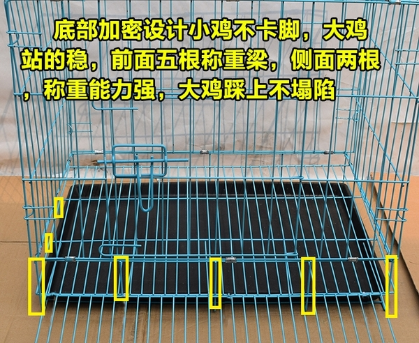 雞籠子家用大號養殖場家禽蛋雞籠自動滾蛋雞籠 i萬客居