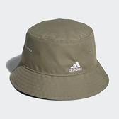 Adidas 男/女帽 棕色 漁夫帽 最不挑臉型 遮陽防曬 GV6548 【KAORACER】