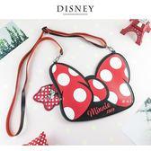 Disney迪士尼大蝴蝶結手機包/萬用包