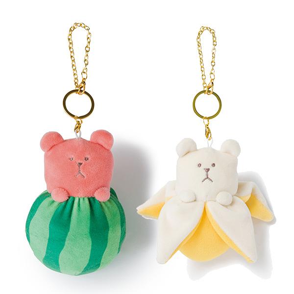 【水果宇宙人娃娃吊飾】宇宙人 新鮮水果系列 娃娃吊飾 熊熊款 日本正版 該該貝比日本精品 ☆