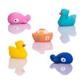 ☆愛兒麗☆Creative Baby 創寶貝 水上樂園噴水洗澡玩具5入/組