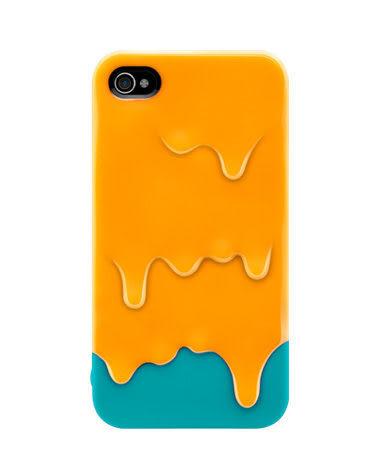 免運 iphone 4 4s 三星 S2手機套 溶化冰淇淋 硬殼