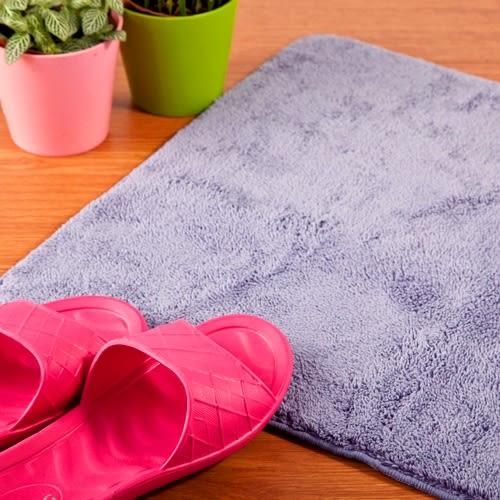 【HOME WORKING】超纖柔感踏墊-香芋紫(小)