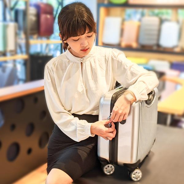 奧莉薇閣 18吋行李箱 登機箱 PC電腦商務旅行箱 極致領航