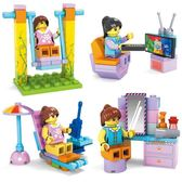 兒童小玩具拼裝積木3-4-6周歲男孩生日禮物益智拼插積木早教啟蒙【雙11購物節 7折起】