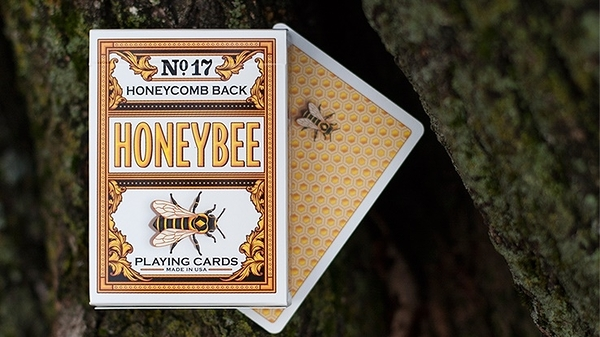 【USPCC 撲克】S103049107 Honeybee V2 Playing Cards (Yellow)