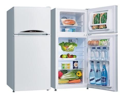 台灣三洋SANLUX 128L雙門冰箱SR-C128B1(含運費,不含樓層費)