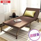 萬聖節優惠-折疊床加固 寬65cm辦公室午休床 單人陪護床可折疊1.2米雙人午睡床 BLNZ