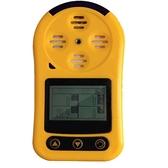 便攜式四合一氣體檢測儀有毒可燃氧氣一氧化碳硫化氫氨氯氣報警器 快速出貨
