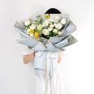 鮮花的花束包裝紙花藝材料