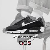 Nike 休閒鞋 Air Max 90 灰 白 男鞋 麂皮設計 氣墊 運動鞋 【ACS】 CN8490-002
