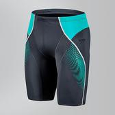 【線上體育】SPEEDO男人運動及膝泳褲SF Panel 灰-綠