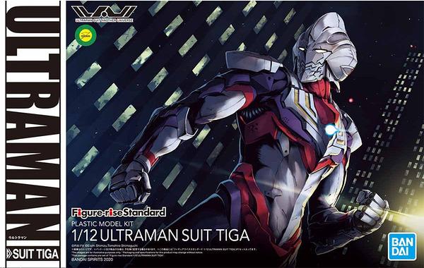 萬代 組裝模型 Figure-rise Standard 1/12 超人力霸王戰鬥服 TIGA 迪卡 TOYeGO 玩具e哥