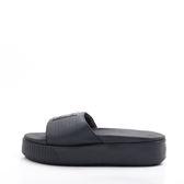 PUMA  LATFORM SLIDE  EP  厚底 加高 休閒拖鞋-黑 366122-02