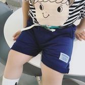 夏季新品男女寶寶中小童兒童休閒貼布運動短褲中褲五分褲童褲