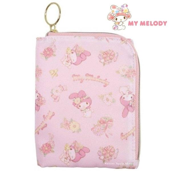 日本限定 三麗鷗 美樂蒂 小花版 折疊 口罩袋 / 口罩收納袋 / 口罩套