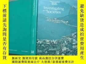 二手書博民逛書店Investigating罕見Societies-- 大16開