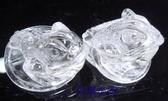 『晶鑽水晶』白水晶*精緻雕刻*三角蟾蜍(咬錢蟾蜍)送禮物佳選*免運費
