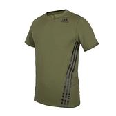 ADIDAS 男短袖T恤(亞規 吸濕排汗 慢跑 路跑 愛迪達 上衣 免運 ≡排汗專家≡