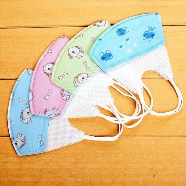 嬰兒口罩兒童一次性春夏薄款嬰幼兒寶寶抗菌0-12個月夏季透氣小孩