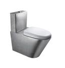 【麗室衛浴】304不鏽鋼 白鐵製坐式馬桶 型號D-T 159-1