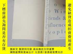 二手書博民逛書店HOW罕見to Win Friends & Influence