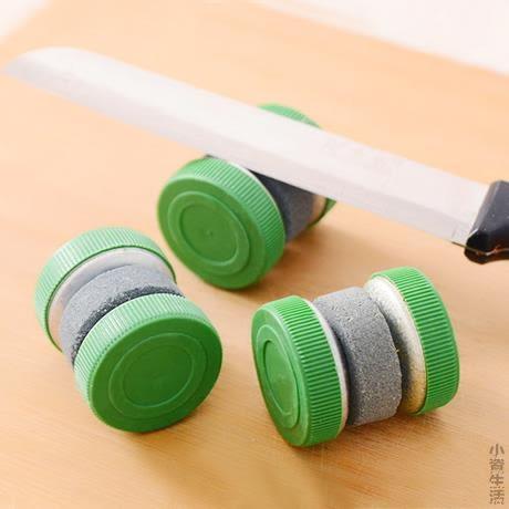 圓形廚房家用快速天然磨刀石日本磨剪子器菜刀工具專業剪刀棒JRM-1688