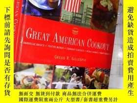 二手書博民逛書店GREAT罕見AMERICAN COOKOUT 偉大的美國野炊