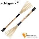 德國品牌 Schlagwerk BRC 06 木箱鼓沙鈴刷 (一組二支)【BRC-06/Cajon Shaker Brush #6/Nylon Bristles】