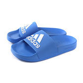 adidas ADILETTE SHOWER 拖鞋 防水 藍色 男鞋 F34769 no676