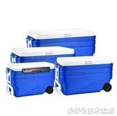 8096升超大食品保溫箱冷藏箱海釣箱戶外車載冰箱外賣ATF 美好生活