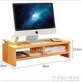 辦公室台式電腦顯示器架子增高桌面墊高底座抬高屏支架收納置物架YYS  概念3C旗艦店