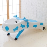 可折疊兒童躺椅兒童洗頭椅小孩洗頭床加大號兒童洗發架浴床浴盆HRYC 【免運】