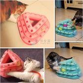 逗貓棒 貓轉盤貓玩具轉盤球三層逗貓棒寵物小貓幼貓貓咪玩具老鼠貓咪用品 俏女孩