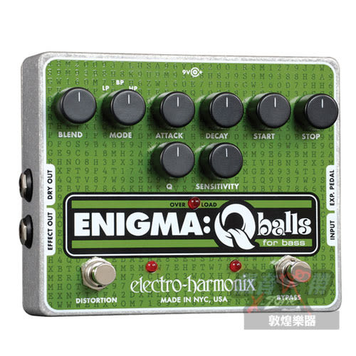 【敦煌樂器】Electro Harmonix Enigma Qball 貝斯效果器