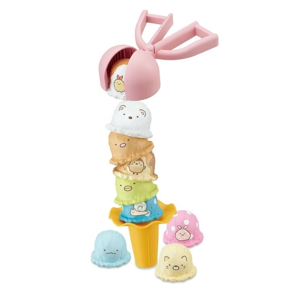 《 EPOCH 》角落小夥伴冰淇淋疊疊樂 /  JOYBUS玩具百貨