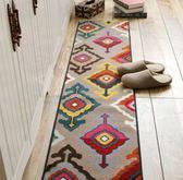 時尚創意地墊151 廚房浴室衛生間臥室床邊門廳 吸水長條防滑地毯(40*160cm)