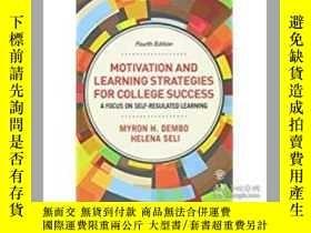 二手書博民逛書店Motivation罕見And Learning Strateg