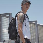 個性15吋筆電減壓後背包-都會黑 / NETTA城市休旅